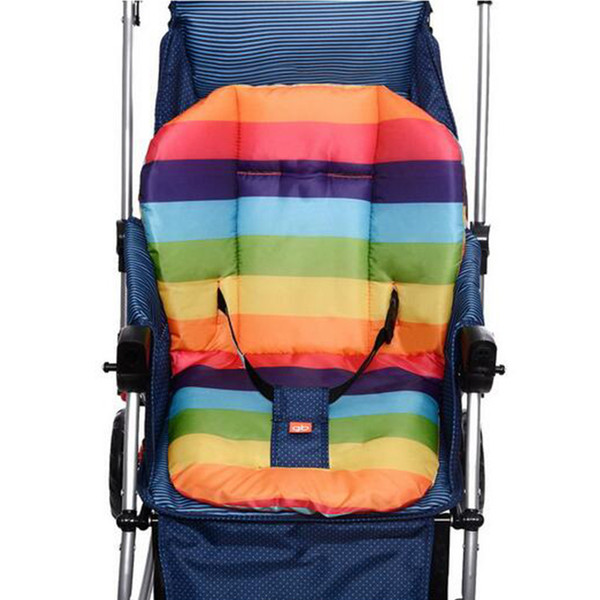 Thick Colorful Baby Infant floor mat Breathable Stroller Padding Liner Car Seat Seat Pushchair Pram Cushion Cotton Mat hot sale