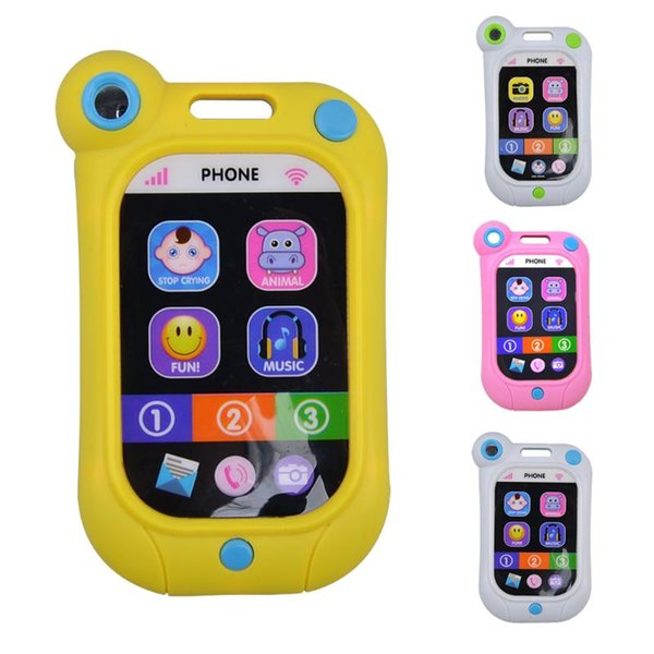 Çocuklar Telefonu çocuk Eğitici Simülasyonp Müzik Cep Oyuncak Telefon Bebek Eğitici Oyuncaklar Oyuncaklar Enstrüman