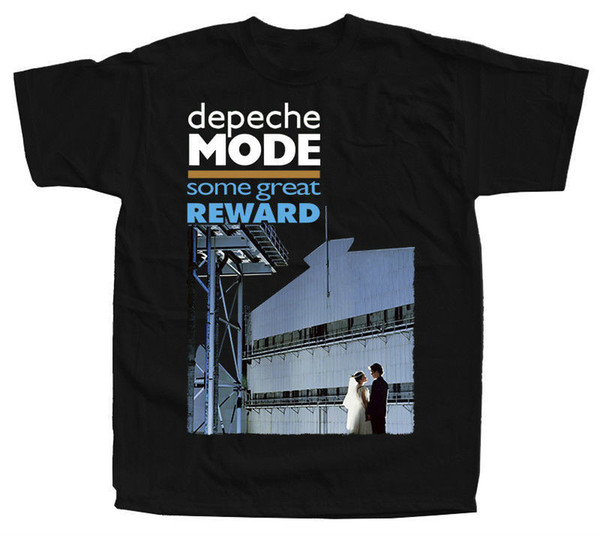 DEPECHE MODE Some Great Reward ver. 1 T-Shirt (Black, brown, navy) S-5XL Cool Slim Fit Letter Printed top tee Men Summer Style