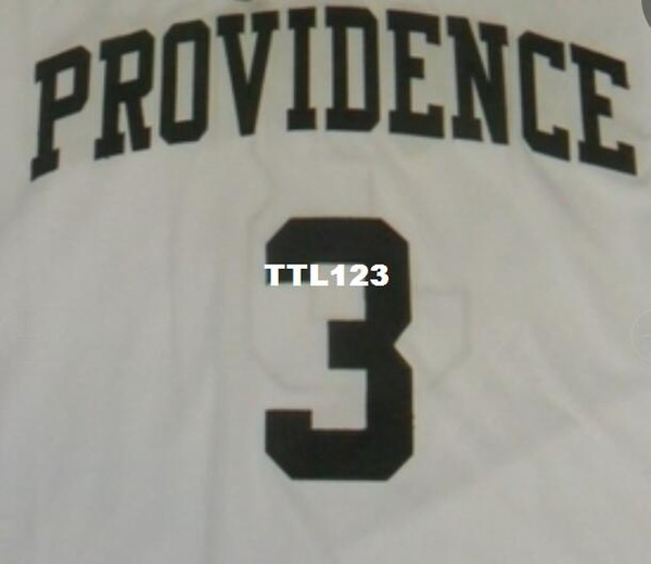 outlet store 1ec71 5b72f 2019 Men #3 Kris Dunn Providence White College Jersey Revolution 30 Jersey  Size S 4XL Or Custom Any Name Or Number Jersey From Ttl123, $15.94 | ...