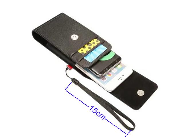 Vertical Horizontal Strap Belt Clip Phone Leather Case For Motorola Moto Z3 Play,For Sony Xperia XZ3/XA2 Plus,ZTE Axon 9 Pro