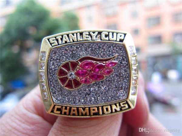 Hotstone88 Drop Shipping 1998 Detroit Red Wings Stanley Cup Championship Ring Fan Uomo Regalo all'ingrosso