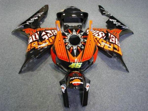 Hot sale Fairings for Honda CBR1000RR 2006 2007 Injection molding fairing kit CBR 1000 RR 06 07 HA17