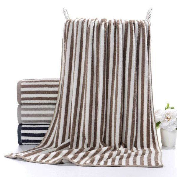 Large Thick Solid Color Bath Towel for Adults Soft Super Absorbent Fast Drying Sports Beach Towels for Home Hotel Beauty Salon
