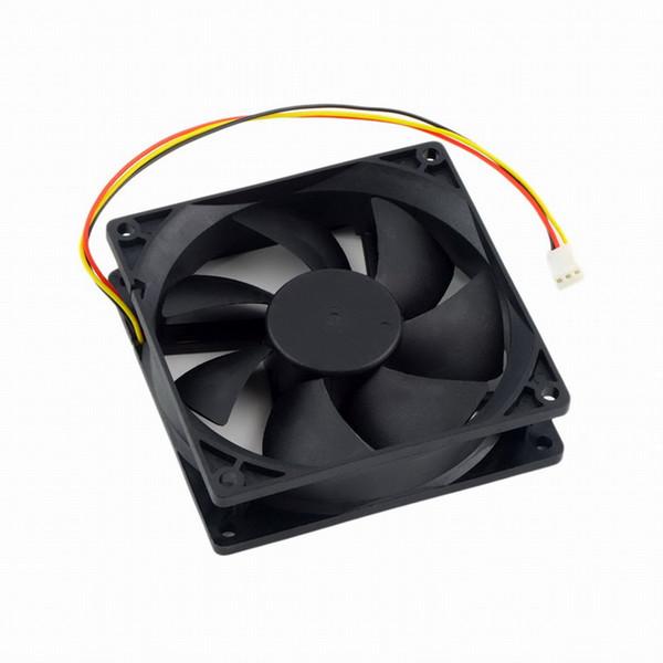 Yeni 12 V 3-Pin 9 cm 90x25mm 90mm CPU Isı Lavabolar Soğutucu Fan DC Soğutma Fanı 65 CFM