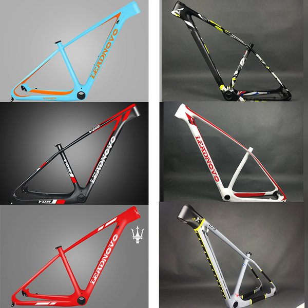 2017 Super light only 950g 142/135 carbon mountain bike frame 29er/27.5er carbon mtb frames 650b Racing bicycle frameset