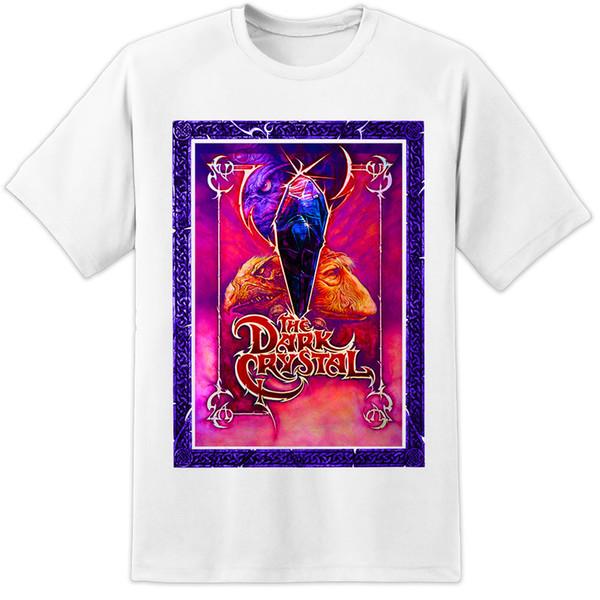 The Dark Crystal Retro Movie T Shirt Jim Henson Labyrinth Poster Classic  Mens New 2018 Hot Summer Casual T Shirt Printing Shirt And Tshirt Create  Your