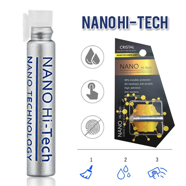 NANO Technology Liquid Screen Protector for iPhone X iPhone 8 Samsung S9 S9 Plus Huawei P10 Air Anti Scratch Tempered Screen Protector