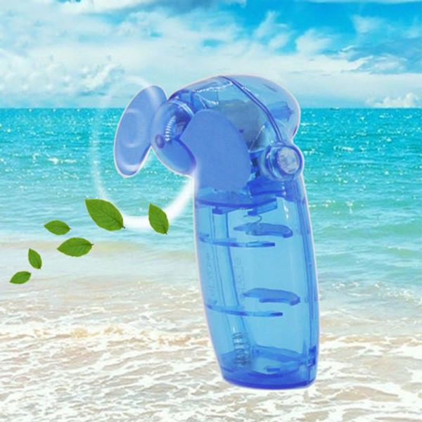 Mini Tragbarer Taschenlüfter Cool Air Hand Batterie Reise Urlaub Gebläse Kühler