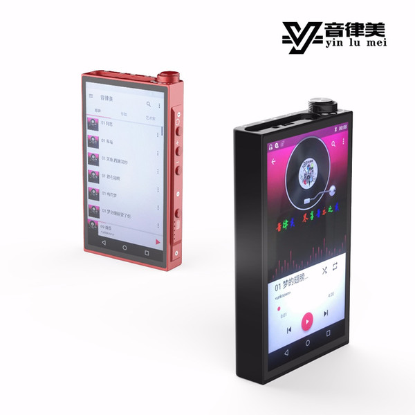 Novo YinLvMei A1 DAP Leitor de Música MP3 Inteligente USB Decodificador AK4497EQ 2.5 + 3.5 Suporte de Saída Equilibrada dupla APTX Lossless Bluetooth