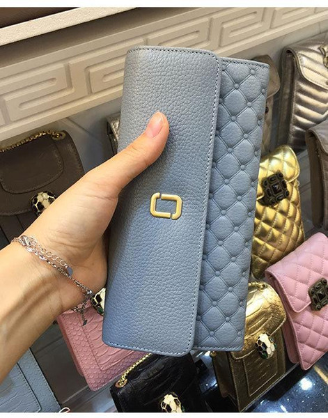 New Long Women Wallets 2017 Korean Hasp Ladies Genuine Nature Leather Purse fashion Female Clutches Cuzdan Coin Pocket Money Bag