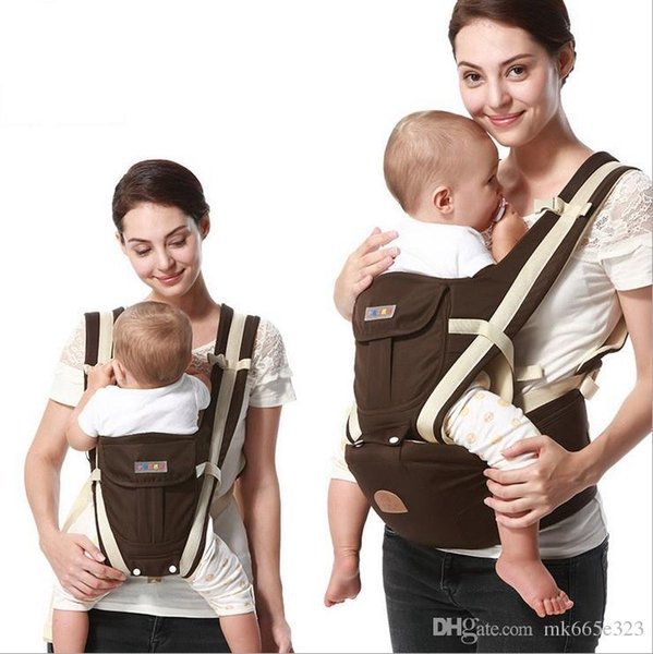 2017 Child Ergonomic backpack Baby Carrier Multifunction Breathable Infant Carrier Backpacks Carriage Toddler Sling Wrap Suspenders + Seat
