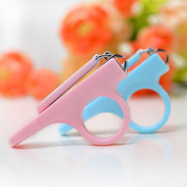 Baby Manicure Kit Segurança Infantil Finger Toe Care Scissor Nail Clipper
