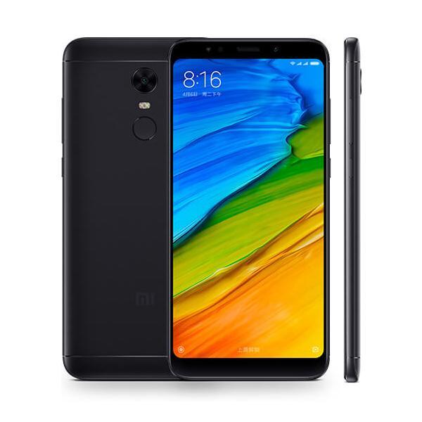 "Original Xiaomi Redmi 5 Plus 64GB ROM 4GB RAM Snapdragon 625 Octa Core 4G LTE Mobile Phone Android 5.99"" 12.0MP Fingerprint Smart Cell Phone"