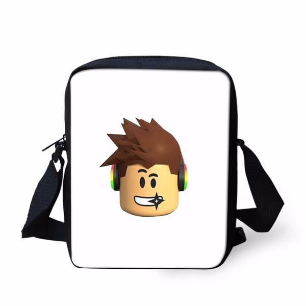 00d6e60e0cf8 School bag Fashion Roblox Games Small Kid School Handbags New Messenger  Bags Kids Boys Girls Travel Crossbody Shoulder Bag