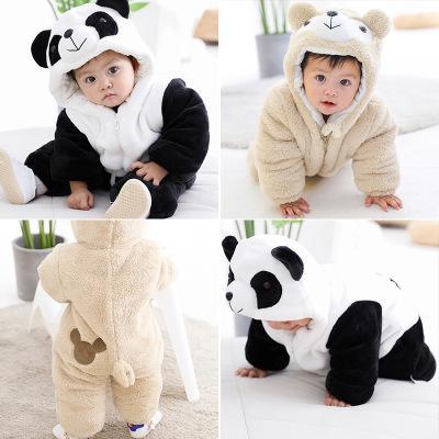 Ins populäre Artbabykleidung, Herbstwinter und Stapelverdickung, kriechende Kleidung des Babys, nette Körperkleidung des Babys