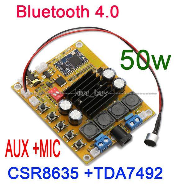2019 TDA7492 50W+50W CSR8635 Bluetooth 4 0 Audio Receiver Digital Amplifier  Board AUX For 12v 24v 19v Car From Isyour, $29 14 | DHgate Com