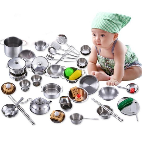 2019 Stainless Steel Kitchen Cooking Utensils Mini Kitchen Tools Play House  From Fashion09, $23.69 | DHgate.Com
