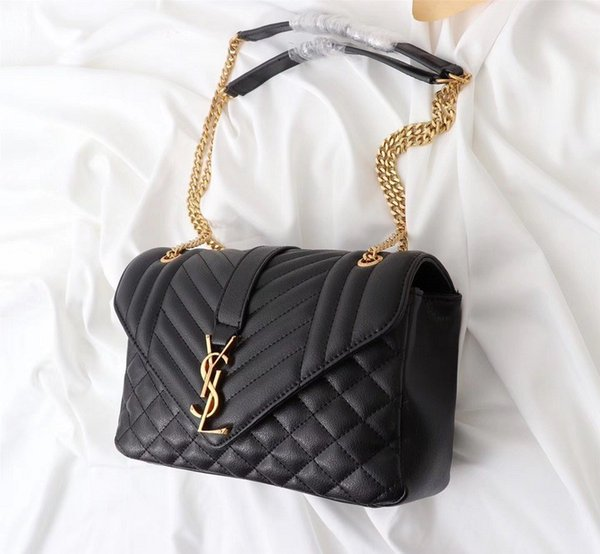 fe6ef72cba7 F25 Ladies High End Designer Totes Bags Women Shoulder Bag Black And Res  Handbag Original Quality26800 Ladies Purse Designer Purses From  Shuangnian10, ...