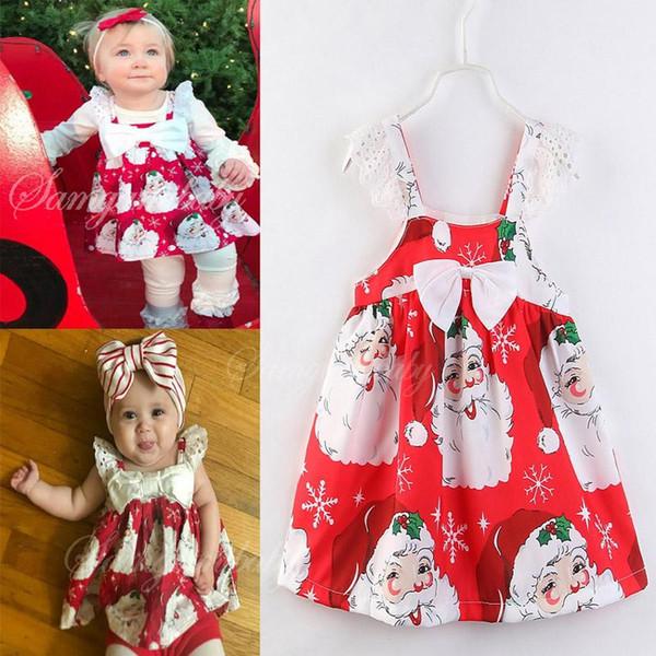 Kid Baby Girl Toddler Dress Boho Tutu Cami Sleeveless Princess Print Sling Dress