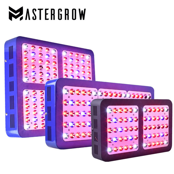MasterGrow Double Switch 600W 900W 1200W Full Spectrum LED grow light with Veg/Bloom modes for Indoor Greenhouse grow tent plants grow