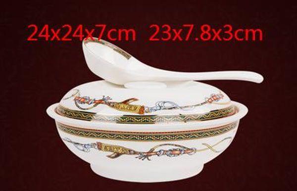 Luxury Dinnerware 6pcs European Ceramic Dinnerware plate Set Porcelain coffee set Coffee Pot Coffee Dinner DishesSaucer set CT079