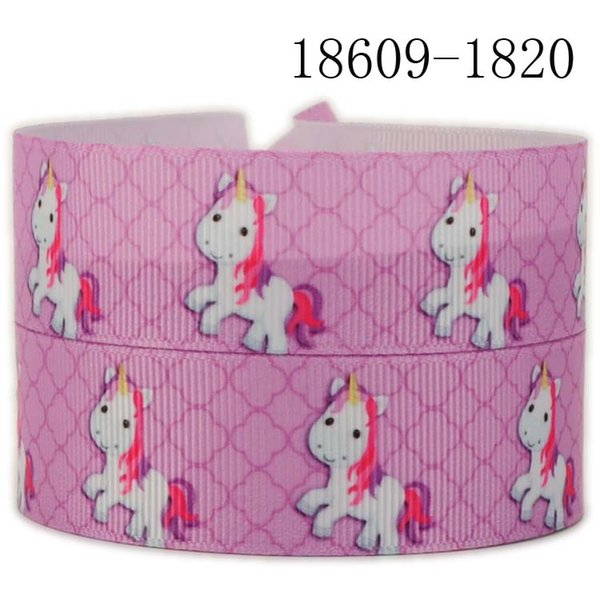Grosgrain Ribbon 22mm Unicorns Unicorn Printed WHOLESALE Party  Gift Decoration