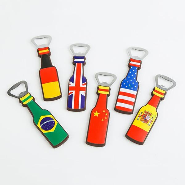 Grosshandel Bier Flaschenoffner Kleine Geschenke Fur Fussballfans Sticker Souvenirs Soccer Game Von Tonghai 2 54 Auf De Dhgate Com Dhgate