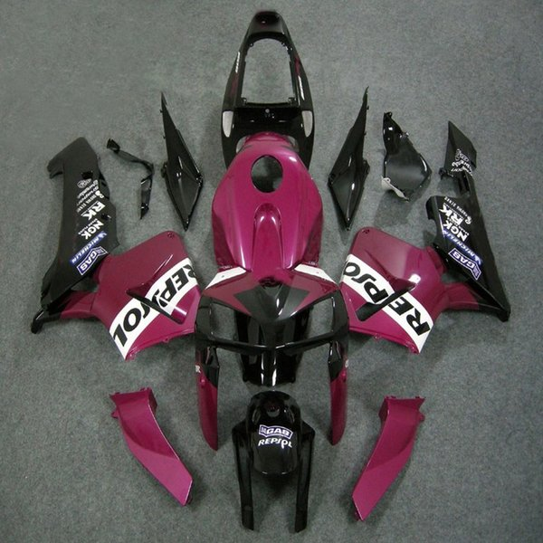 23colors+5Gifts Injection mold pink repsol ABS Fairing For Honda CBR600RR 2005 2006 CBR 600RR 05 06 CBR 600 RR ABS plastic kit