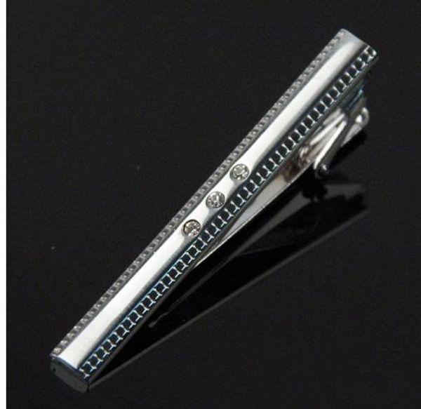 Mdiger Brand New Edelstahl Krawattennadel Pin Verschluss Getönten Hochzeit Metall Krawattenklammern Für Männer Geschenk großhandel Herren Krawattenklammern