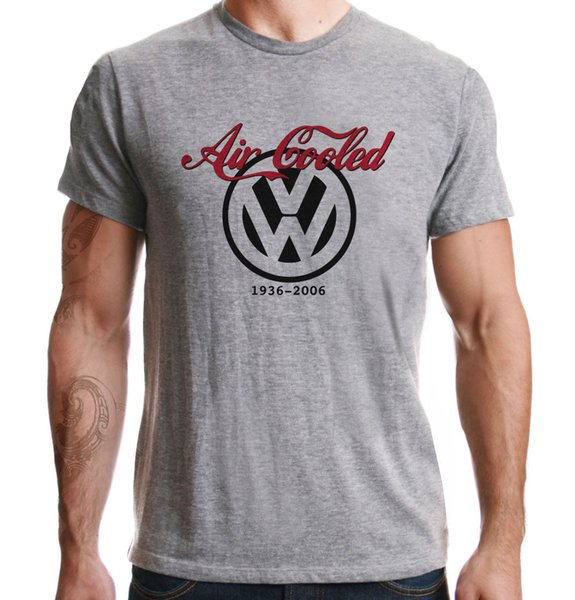 Details zu Air Cooled VW Transporter Beetle Bus Campervan Boxer Engine Sport Grey T-Shirt Funny free shipping Unisex Casual tee top