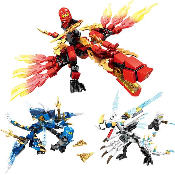 Venda quente Fantasma Ninja Bonecas Colecionar Blocos de Construção de Brinquedos Assembléia Sabedoria das Crianças Sembron