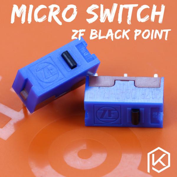 zf 5pcs envío gratis punto negro microinterruptor microinterruptor para el ratón vida útil 500 W micro interruptor del juego DGAE-FL05
