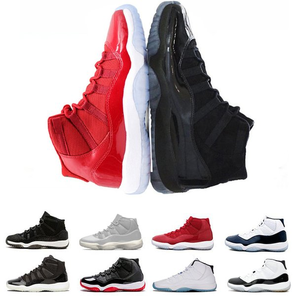 Wholesale newest Basketball Shoes Concord s Prom Night Men blackout Easter Gym Red Midnight Navy Barons athletic men sport sneaker