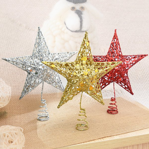 Christmas Tree Top Star Christmas Star Tree Topper For Table Christmas Ornament Xmas Decorative Party Event Supplies New Year