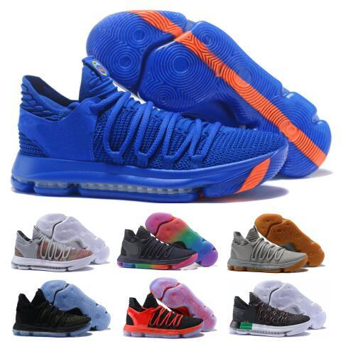 70f54a0514f Compre Last Kd 10 Zapatillas De Baloncesto Para Hombre Gris Kevin Durant  10s X Pure Platinum BHM Oreo Triple Lmtd Serie City Features China Shoe  Sneakers A ...