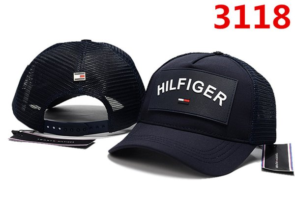2018 neue Ankunft blauen roten Buchstaben Sommer Ball Cap Baseball coole Frauen Männer Mode Design einstellbar Hut