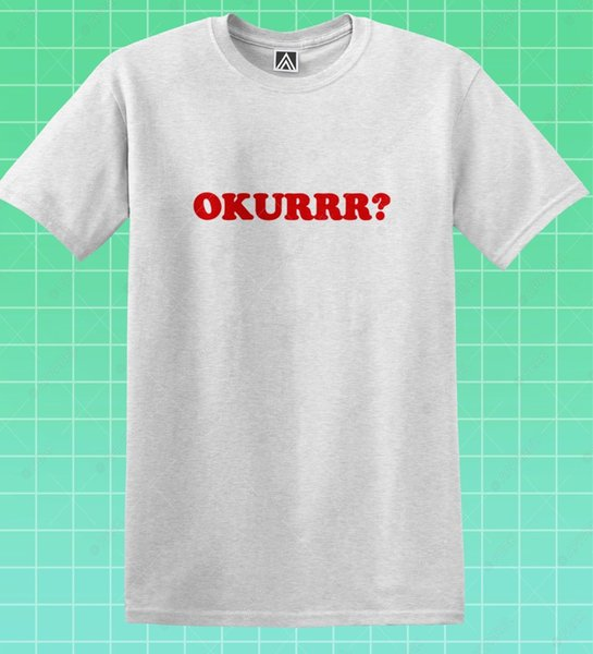 Laganja T-shirt Okurrr Arrastar Rupaul LGBT Tee Orgulho Gay Alyssa Rainha Inferior Top de Manga Curta Plus Size t-shirt
