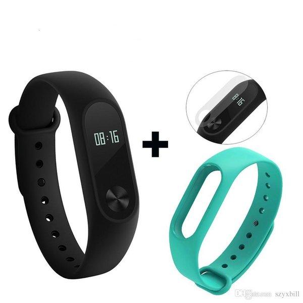 ee13dc90d Global Version Xiaomi Mi Band 2 miband 2 Smartband OLED display touchpad heart  rate monitor Bluetooth