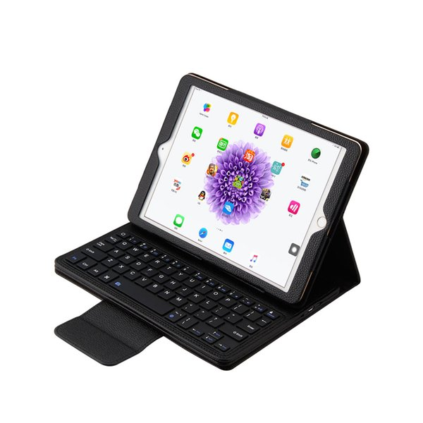Detachable Ultra-thin Bluetooth Keyboard+ PU Leather Case Cover for Apple iPad Air 2 iPad Pro 9.7''