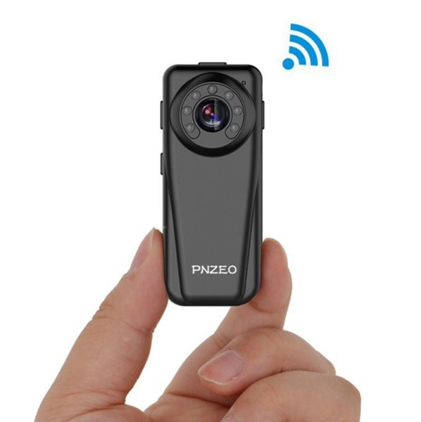 Pinzer F3 micro wireless wifi remote monitoring camera 1080P hd night vision wide-angle webcam recording function
