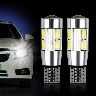 Araba LED Genişliği Göstergesi T10 - 5630 - 10 s MD Vurgu Çözme Genişliği Göstergesi Plaka Lambası Okuma Lambası
