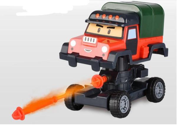 Satın Al 5 Stilleri Deformasyon Araba Robotcar Kabarcık Oyuncaklar
