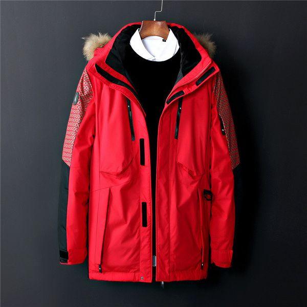 2018 New Casual Brand north Windproof Down Men Down Jacket Winter Warm Coat Men S Ultralight Duck Down Male Windproof face Parka 1798