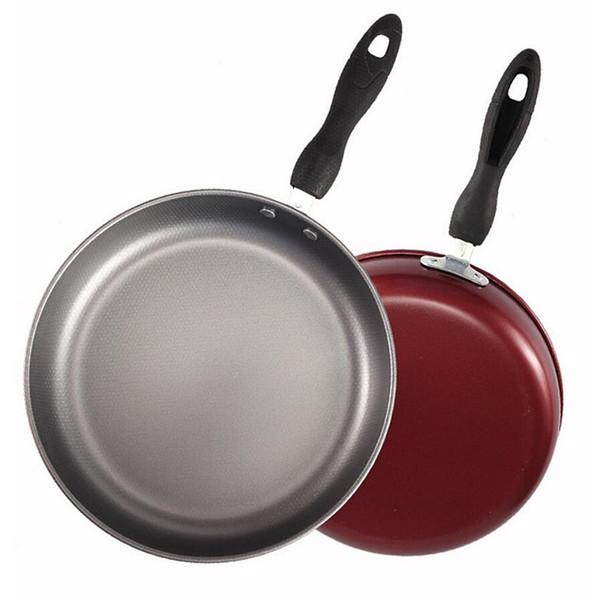 26cm Stainless Steel Frying Pan Cooking Pot Gas Grill Pan Teflon Coating Non Stick Skillet Pan Kitchen Pots And Pans Saucepan Skillet Pans Skillets