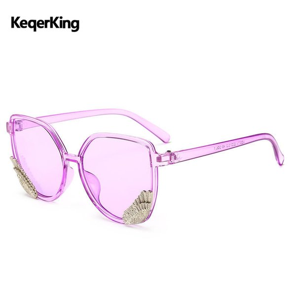 Retro Women Cat Eye Sunglasses New Candy Color Frame Sun Glasses summer Ocean Lens Classic Brand Design Eyewear UV400