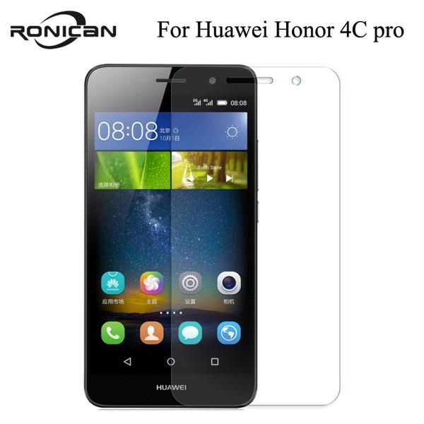 Huawei Onur için 4C pro cam huawei y6 pro ekran koruyucu temperli cam AGREAL huawei ultra İnce 4c pro y6 ekran koruyucu film