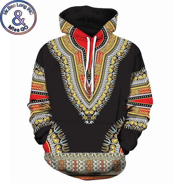 3D Tradicional Imprimir Hoodies Das Mulheres Dos Homens 2018 Moda Africano Dashiki Moletom Com Capuz Moletons Homens Hip Hop Streetwear Com Capuz Treino