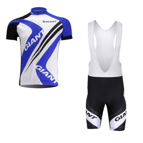 Summer Breathable quick dry GIANT cycling jersey sets MTB Bike Clothing men's racing bicycle clothes ropa ciclismo hombre 91925Y