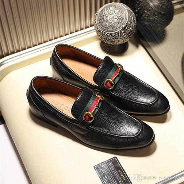 2018 Luxury Newest Fashion Men Metal Embroidered flowers shoes Man's Formal Shoes For Homecoming Wedding Business Christmas gift